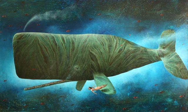 , 'Deep Waters (no. 17),' 2018, Rebecca Hossack Art Gallery