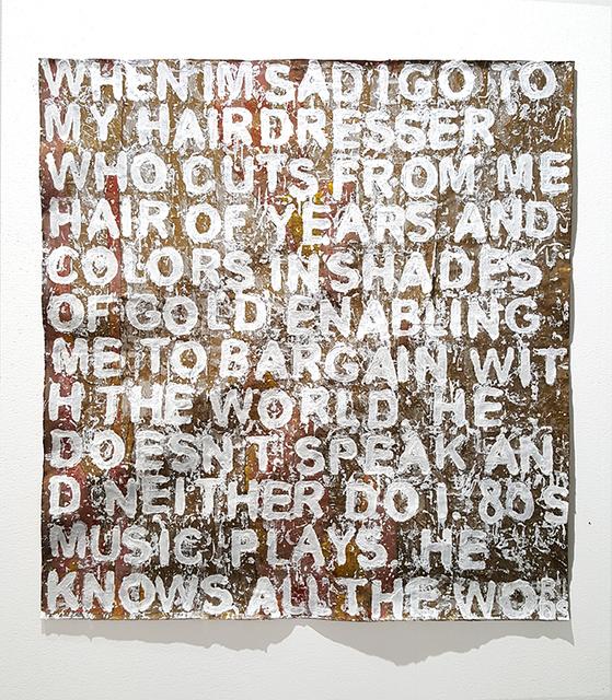Nitzan Mintz, 'Madonna', 2017, Zemack Contemporary Art
