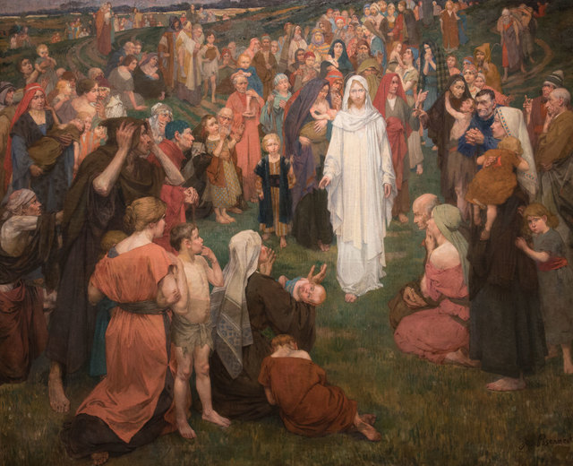 , 'He Came and Healed,' 1900, Anthony's Fine Art