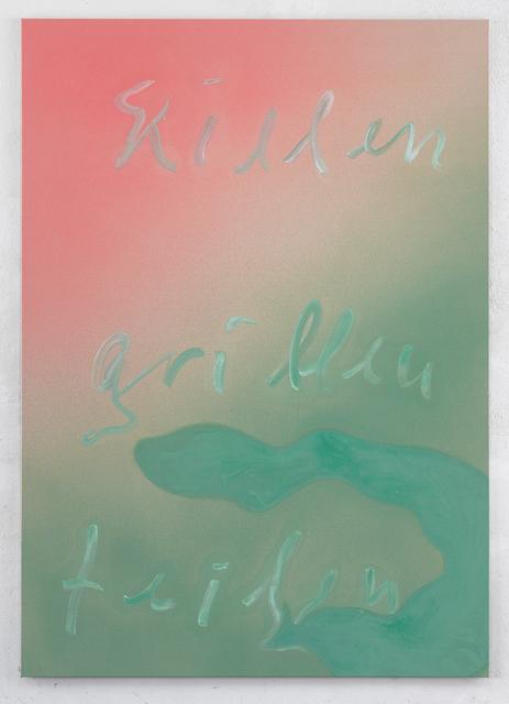Jürgen Drescher, 'Killen Grillen teilen I', 2018, Mai 36 Galerie