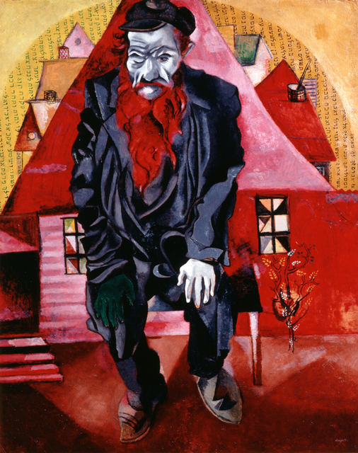 Marc Chagall, 'The Red Jew', 1915, Kunstmuseum Basel