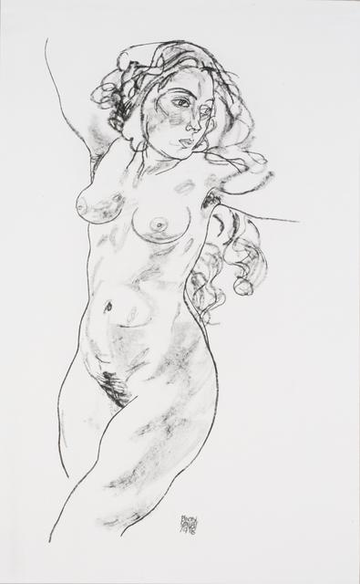, 'Standing Female Nude [Handzeichnungen],' 1920, Jason Jacques Gallery