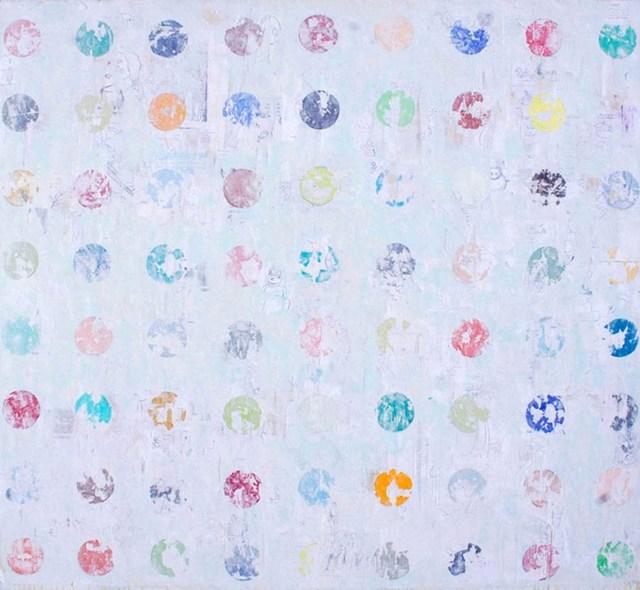 Nicole Charbonnet, 'Erased Hirst (Blue)', 2009-2015, Winston Wächter Fine Art