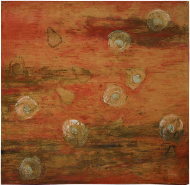 Irma Palacios, 'Satelites Luminosos ', 2016-2017, Painting, Oleo/tela, Quetzalli Arte y Diseño