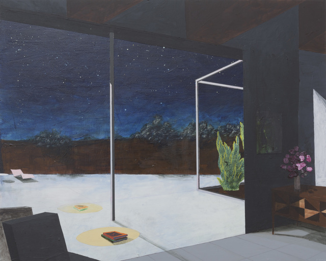 , 'Picture Window Nocturne,' 2016, Samuel Freeman