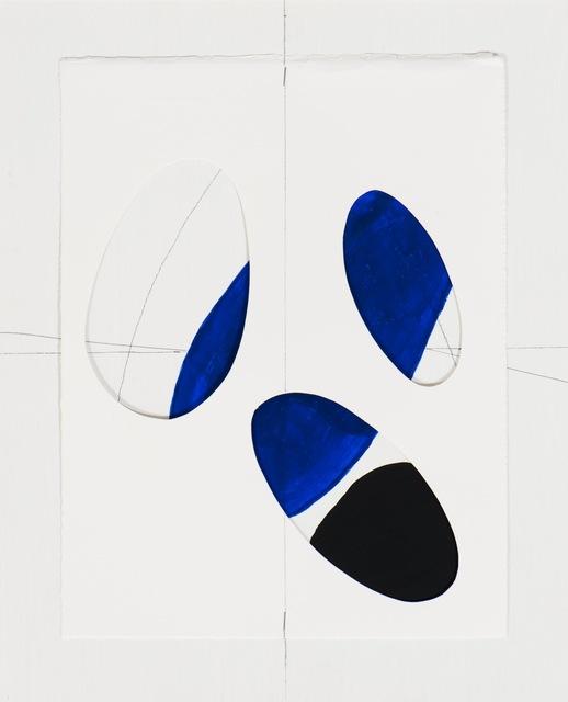 """, 'Geografías corporales I """" Color blanco"""",' 2009, Gallery Elena Shchukina"""