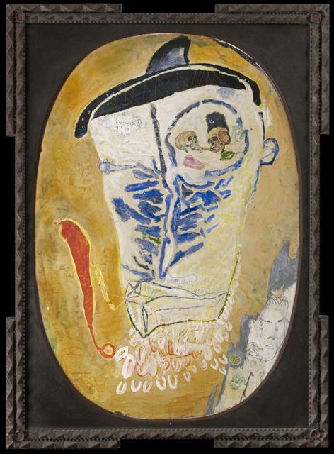 , 'Kabuki Head,' 2014, Sardac