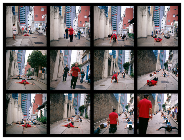 , 'Cang's Gymnastics - Hong Kong,' 2006, Contemporary by Angela Li