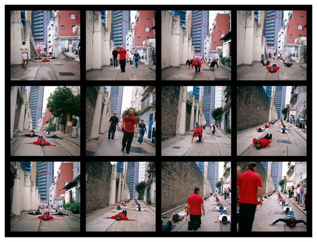 , 'Cang's Gymnastics - Hong Kong,' 2006, Contemporary by Angela Li