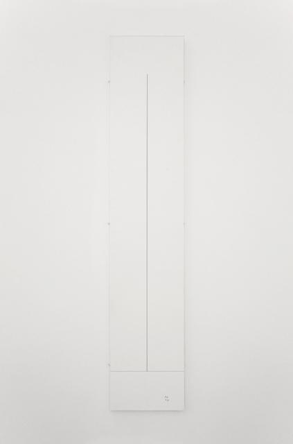 , '1 m,' 1973, Galerie Micheline Szwajcer