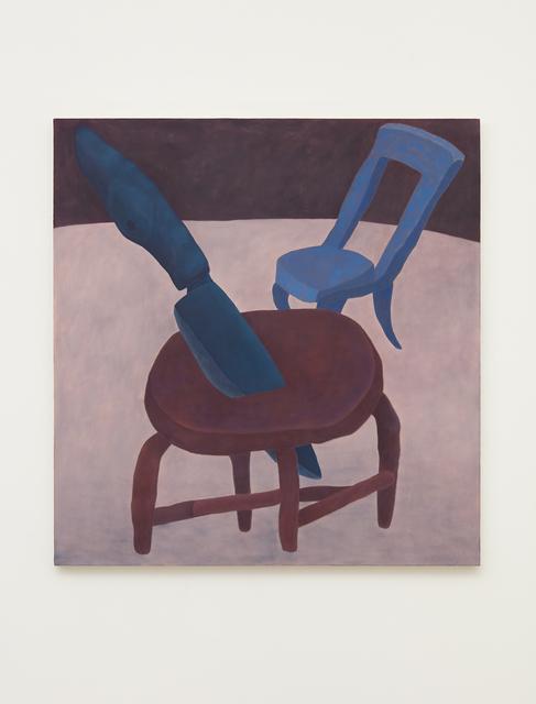 , 'Stabbed Stool,' 2017, NINO MIER GALLERY