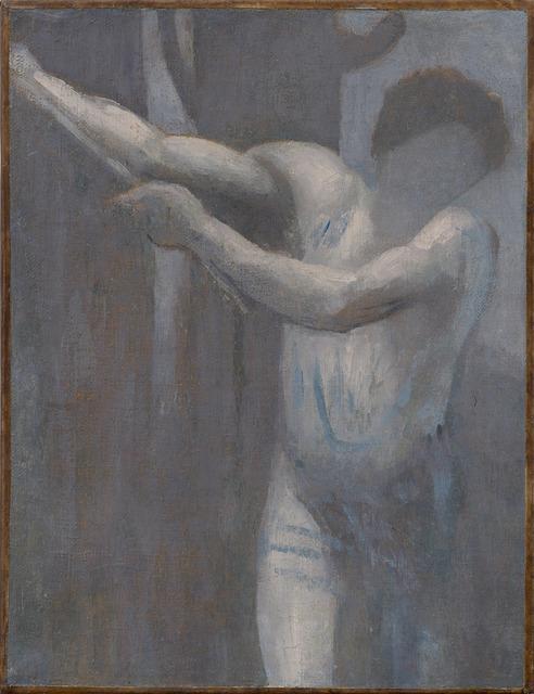 ", '""Le bûcheron (esquisse) (The Woodcutter [sketch])"" ,' 1892, Michael Werner Gallery"