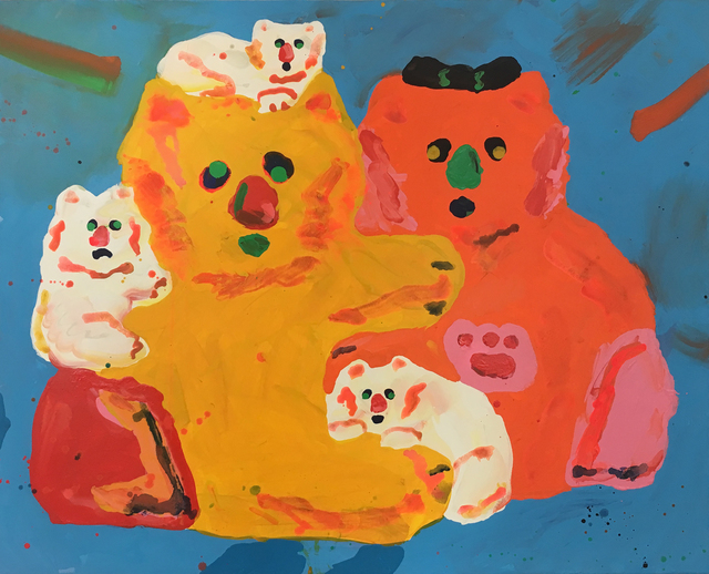 , 'Fluffy Family,' 2017, V1 Gallery