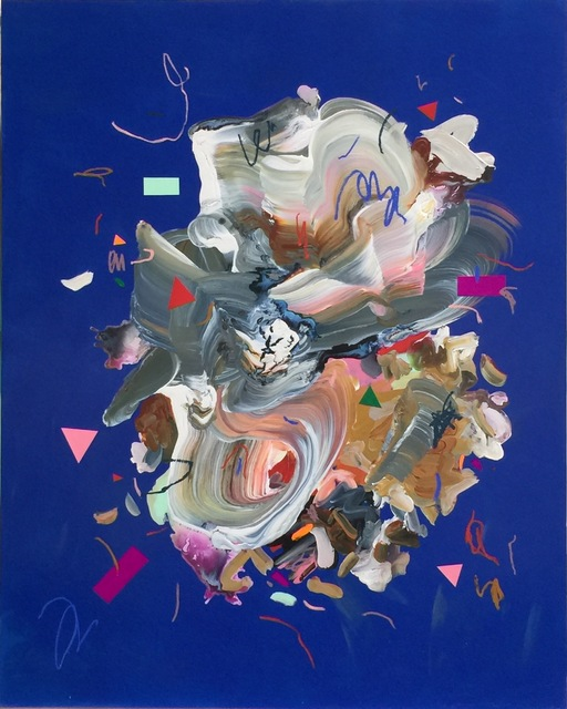 Janna Watson, 'Woggle Fast and Push Your Muscles', 2021, Painting, Mixed media on panel, Bau-Xi Gallery
