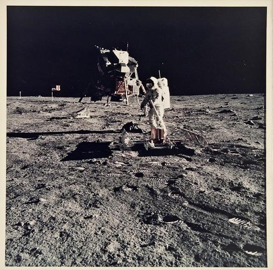 , 'Apollo 11. Buzz Aldrin working near the lunar module.,' 1969, Repetto Gallery