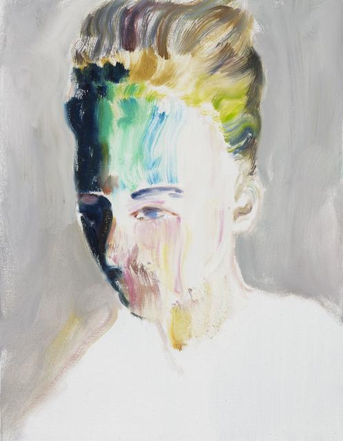 , 'Rainbow Face,' 2016, LLE