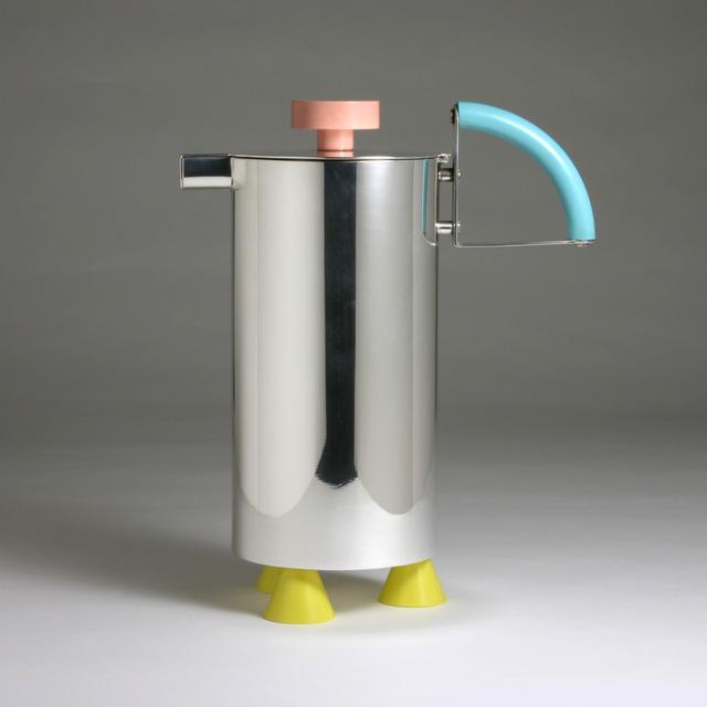 "Michele de Lucchi, '""Carafe""', 1979, Design/Decorative Art, Sterling Silver, Plastic, J. Lohmann Gallery"