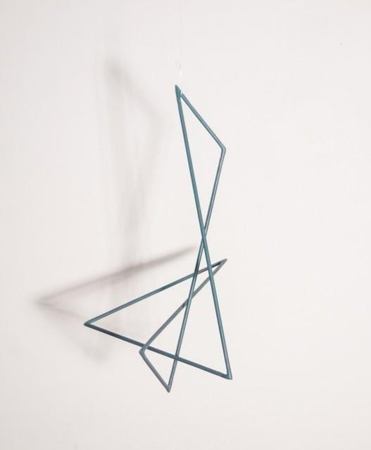 , 'Trait 63 noir,' 2014, Galerie Marie-Robin