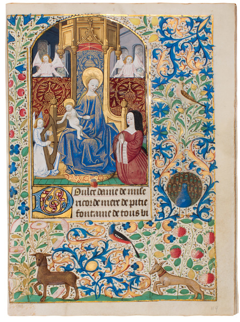 , 'Dupont Book of Hours,' 1470-1480, Dr. Jörn Günther Rare Books