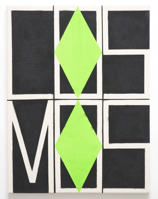 , 'Green/Black Cosmos,' 2014, Xippas
