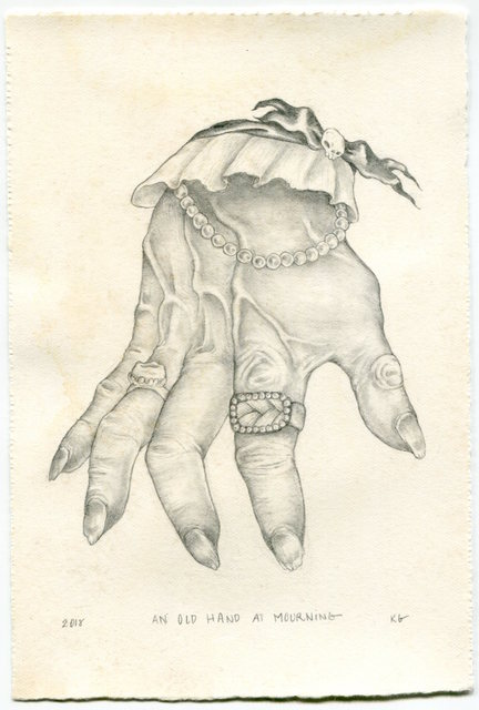 , 'An Old Hand at Mourning,' 2018, La Luz de Jesus Gallery