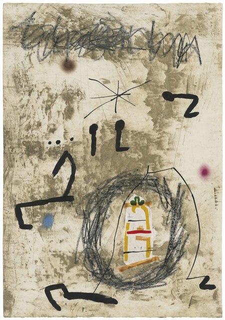 Joan Miró, 'Maquette for: Persontage i Estels V', 1979, Christie's
