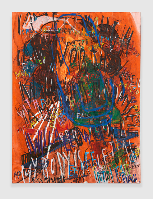 , 'RGB Affirmations (Orange),' 2018, PRAZ-DELAVALLADE