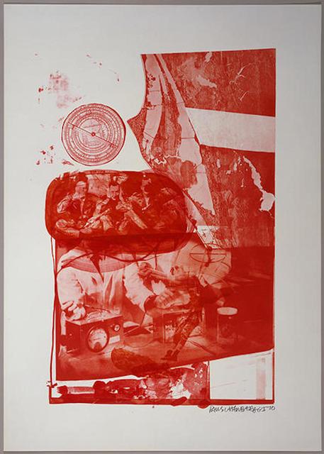 Robert Rauschenberg, 'Ape, from Stoned Moon', 1970, Gregg Shienbaum Fine Art