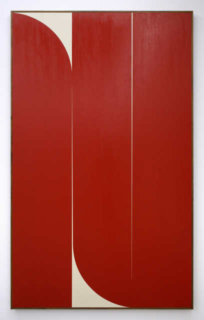, 'Untitled (red),' 2019, Romer Young Gallery