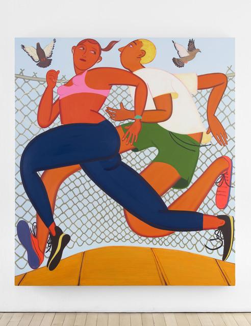 , 'Double Dutch,' 2017, James Cohan