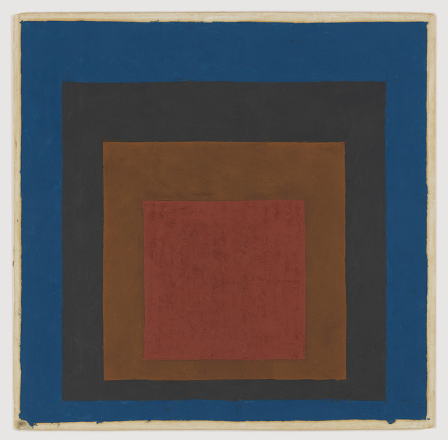 , 'Study for Homage to the Square (Night Shade),' 1957-1960, Anthony Meier Fine Arts