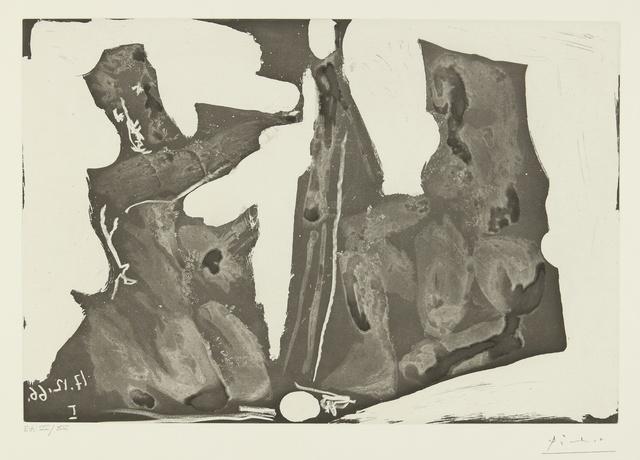 Pablo Picasso, 'Peintre et modèle (B. 1440; Ba. 1473)', Print, Aquatint, Sotheby's