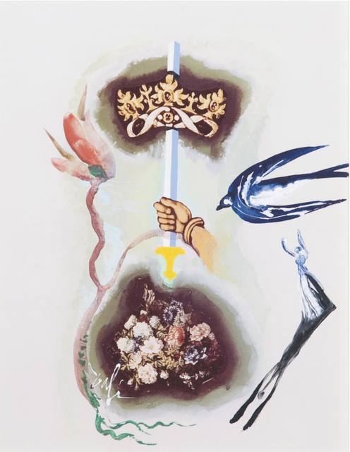 , 'Ace of Swords, Minor Arcana,' 1971, Opera Gallery