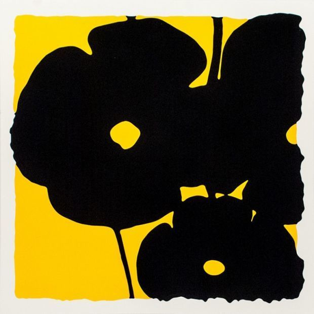 , 'Yellow Reversal Poppies,' 2015, Vertu Fine Art