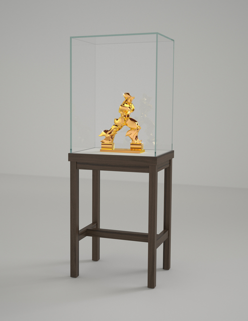 , 'Perfect Forms (24K Gold Edition),' 2010-2014, Sperone Westwater