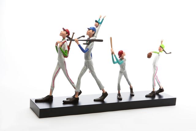 , 'Baseball Family,' 2014, Artspace H