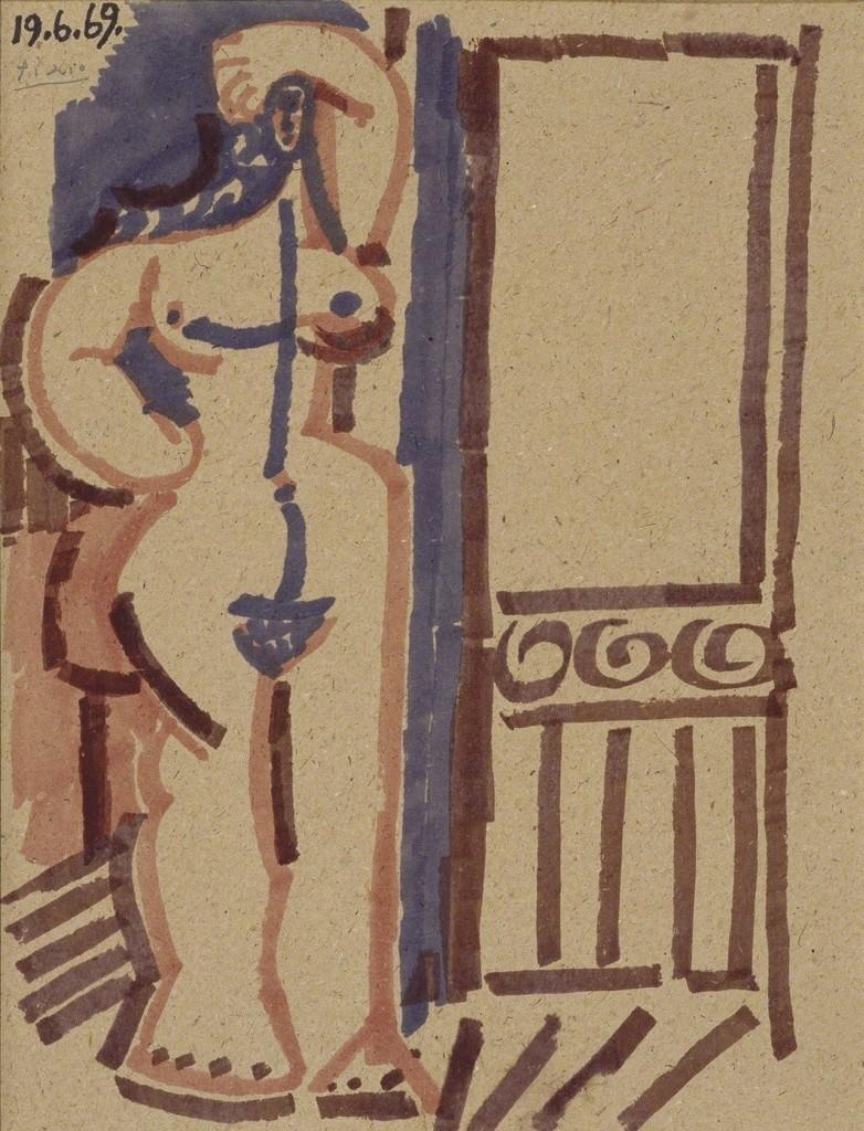 Pablo Picasso, 'Femme debout,' 1969, Galerie Gmurzynska