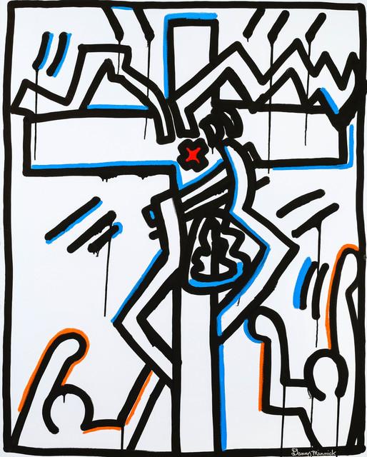 , 'Red Cross ,' 2017, Maddox Gallery