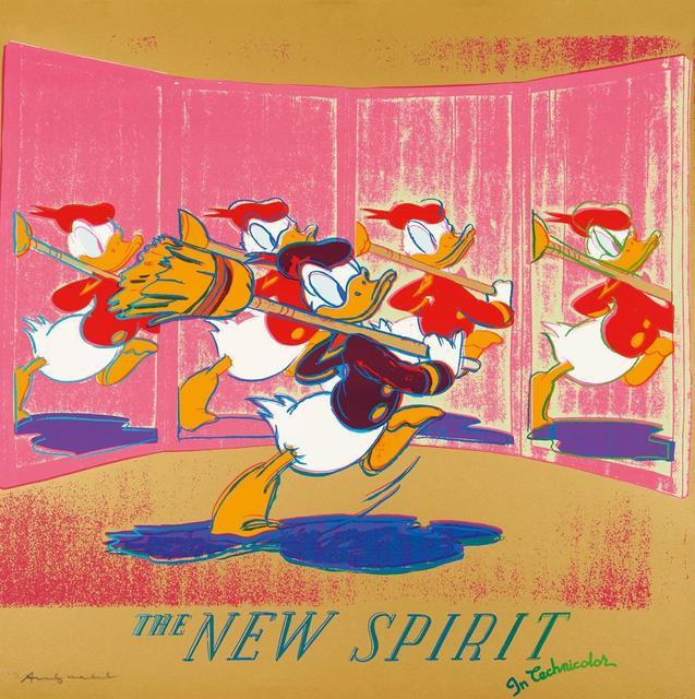 Andy Warhol, 'The New Spirit', 1985, Gallery HAAS & GSCHWANDTNER