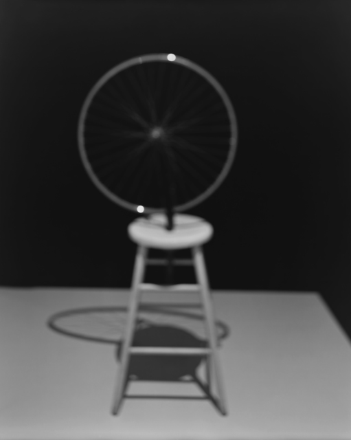 Hiroshi Sugimoto, 'Past Presence 025, Bicycle Wheel, Marcel Duchamp, ', 2014, Marian Goodman Gallery