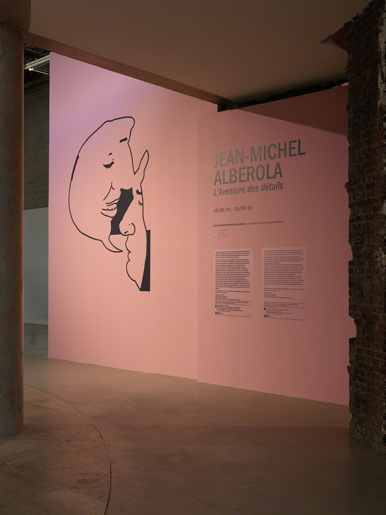 Exhibition view of Jean-Michel Alberola, L'aventure des détails, Palais de Tokyo (19.02 – 16.05.2016). © ADAGP, Paris 2016. Photo: André Morin.