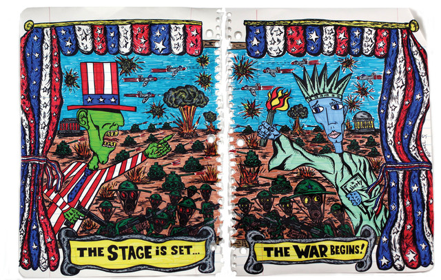, 'The Stage is Set,' 2008, g.gallery
