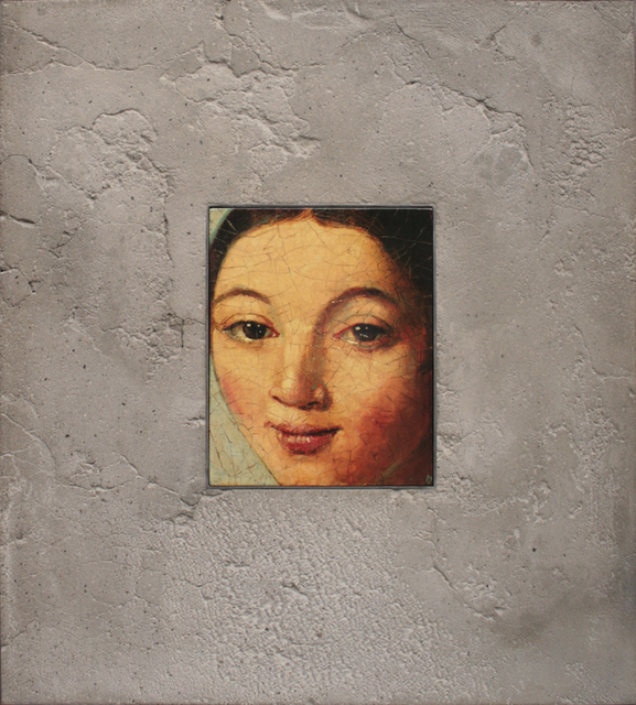 , 'Portrait in Stone, After Ingres,' 2001, Galerie de Bellefeuille