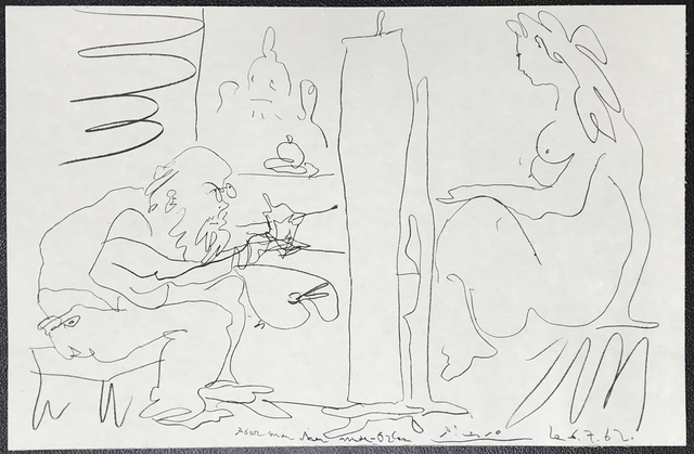 "Pablo Picasso, 'The Painter and his Model from ""Regards sur Paris""', 1962, Fairhead Fine Art Limited"