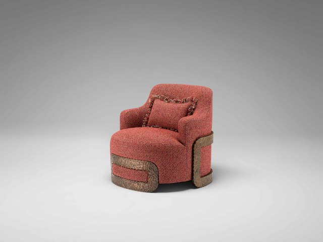 , 'Armchair 'Buckle',' 2017, David Gill Gallery