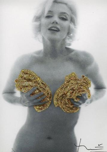Bert Stern, 'Marilyn. Classic Gold Roses (1962)', 2013, Kunzt Gallery