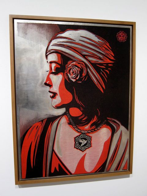 Shepard Fairey, 'Harmony (Plate)', 2012, Maddox Gallery