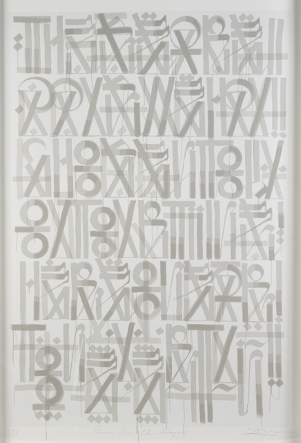 RETNA, 'These Are The Days', 2011, Julien's Auctions