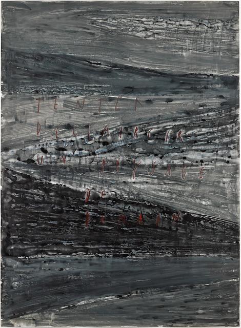 , 'Tenter d'éclaircir un paysage de demain,' 2017, GALLERY FIFTY ONE