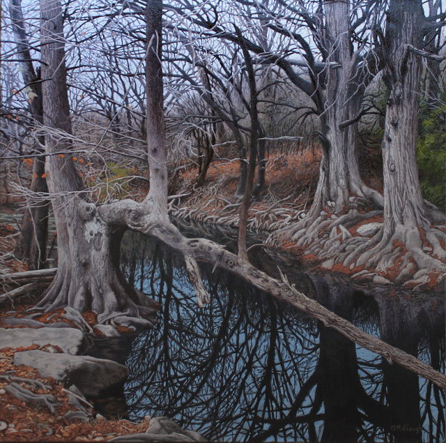 , 'Onion Creek on New Year's Day,' , Davis Gallery & Framing